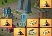 2048 city html5 game