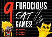 9 Furocious Cat Games