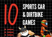 10 Sports Car & Dirtbike Games