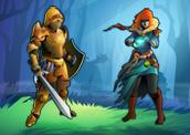 Sacred Treasure RPG Game