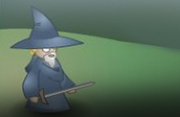 Angry Old Wizard