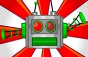 Red Button Robot