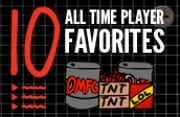 10 All-Time Player Favorites