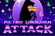 Retro Unicorn Attack