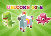 Unicorn 2048 Addicting Games